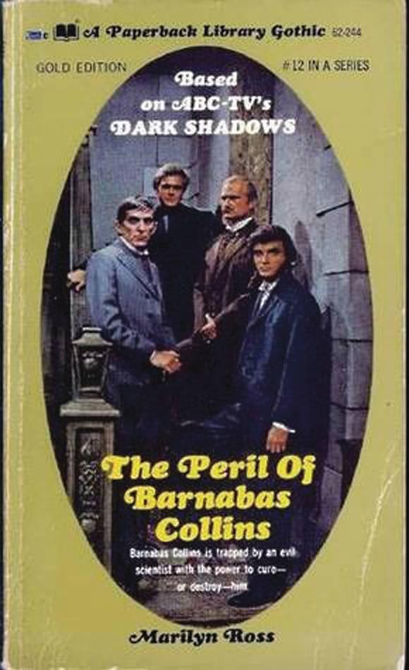 DARK SHADOWS PAPERBACK LIBRARY NOVEL 12 PERIL OF BARNABA
