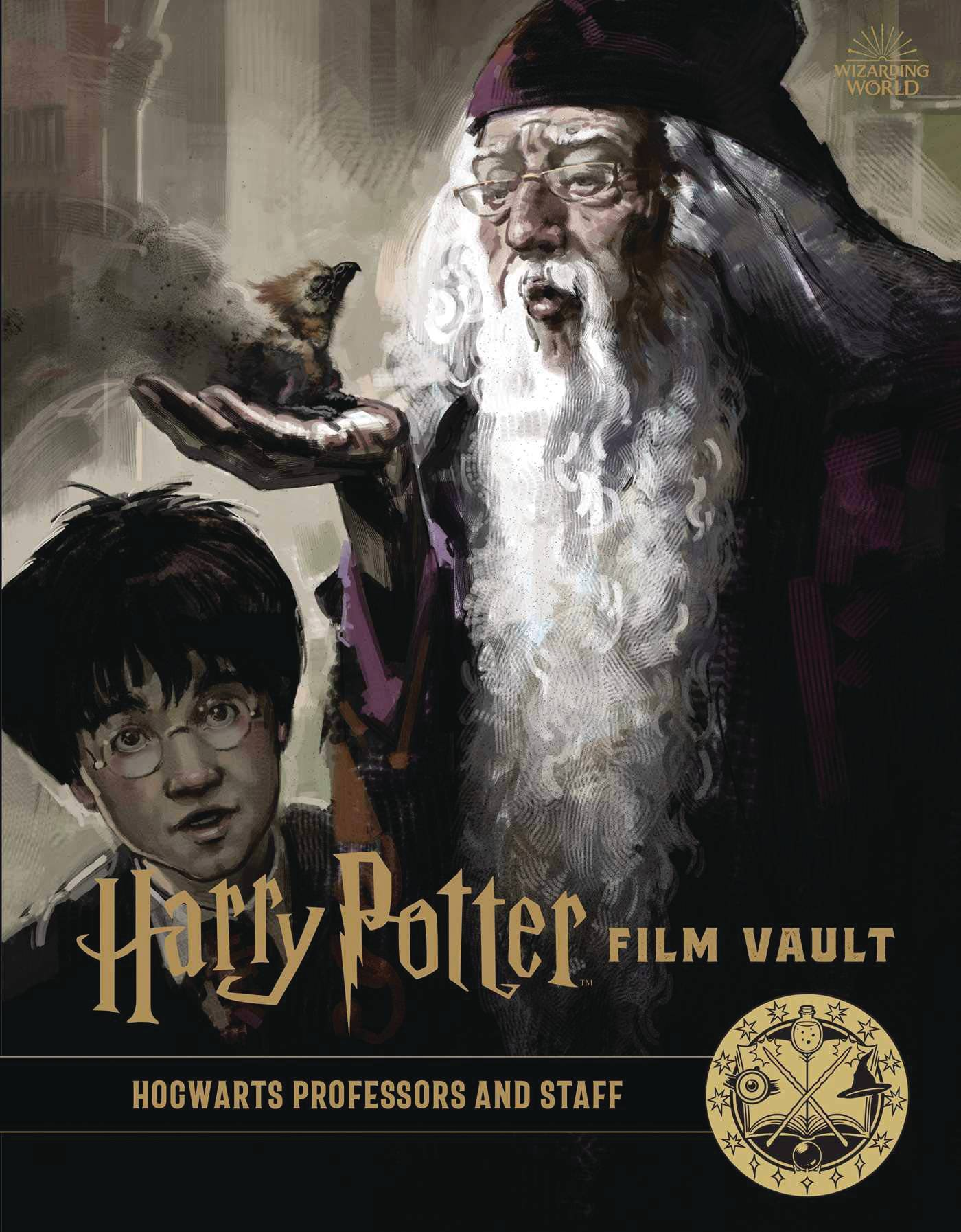HARRY POTTER FILM VAULT HC 11 HOGWARTS PROFESSORS & STAF