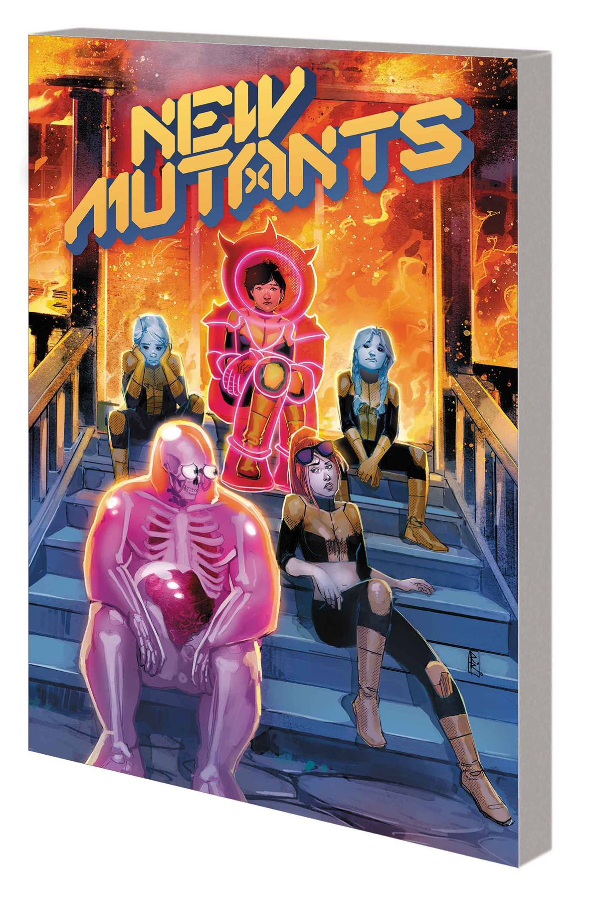 NEW MUTANTS BY ED BRISSON TP 01