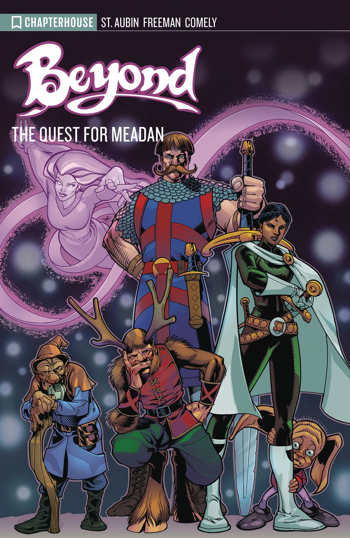 BEYOND ARCHIVES QUEST FOR MEADAN TP