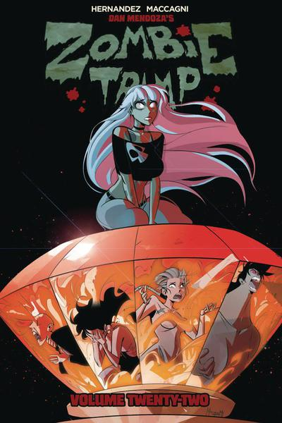 ZOMBIE TRAMP TP 22 BLOOD DIAMONDS ARE FOREVER