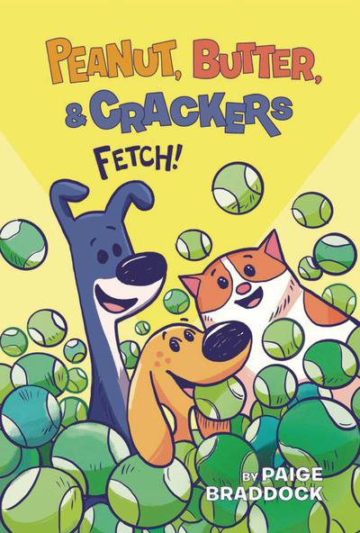 PEANUT BUTTER & CRACKERS YR TP 02 FETCH