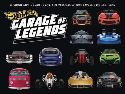 HOT WHEELS GARAGE OF LEGENDS PHOTOGRAPHIC GUIDE HC