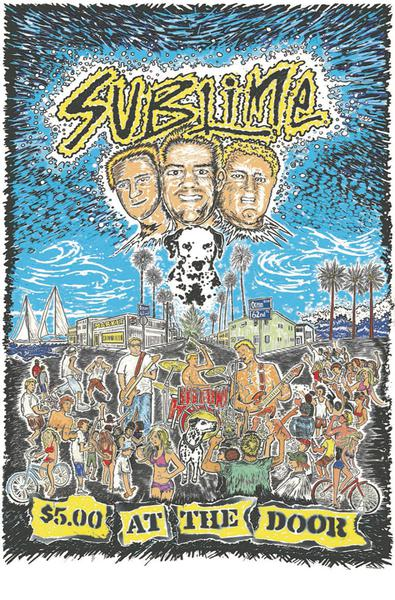 SUBLIME 5 DOLLARS AT THE DOOR TP