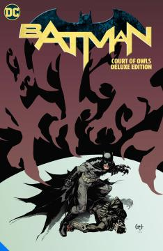 BATMAN COURT OF OWLS DELUXE EDITION HC