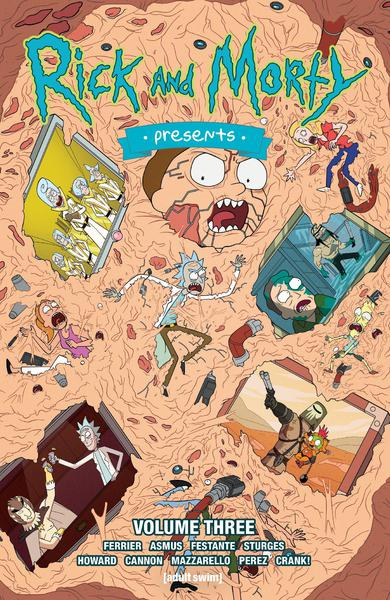 RICK AND MORTY PRESENTS TP 03