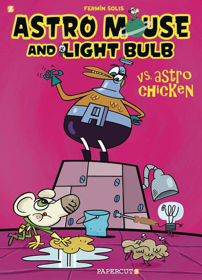 ASTRO MOUSE AND LIGHT BULB HC 01 VS ASTRO CHICKEN