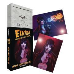 ELVIRA METAL CRYPT CARDS