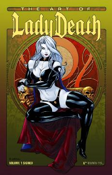ART OF LADY DEATH SGN HC 01