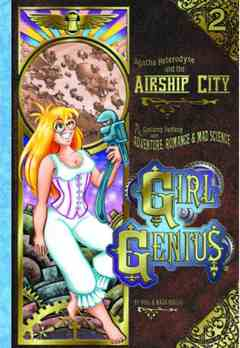 GIRL GENIUS TP 02 AGATHA & THE AIRSHIP CITY