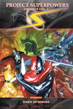 PROJECT SUPERPOWERS OMNIBUS TP 01 DAWN OF HEROES