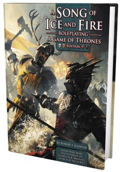 SONG OF ICE AND FIRE RPG GAME OF THRONES EDITION HC