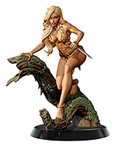 WOMEN DYNAMITE SHEENA QUEEN JUNGLE CAMPBELL STATUE
