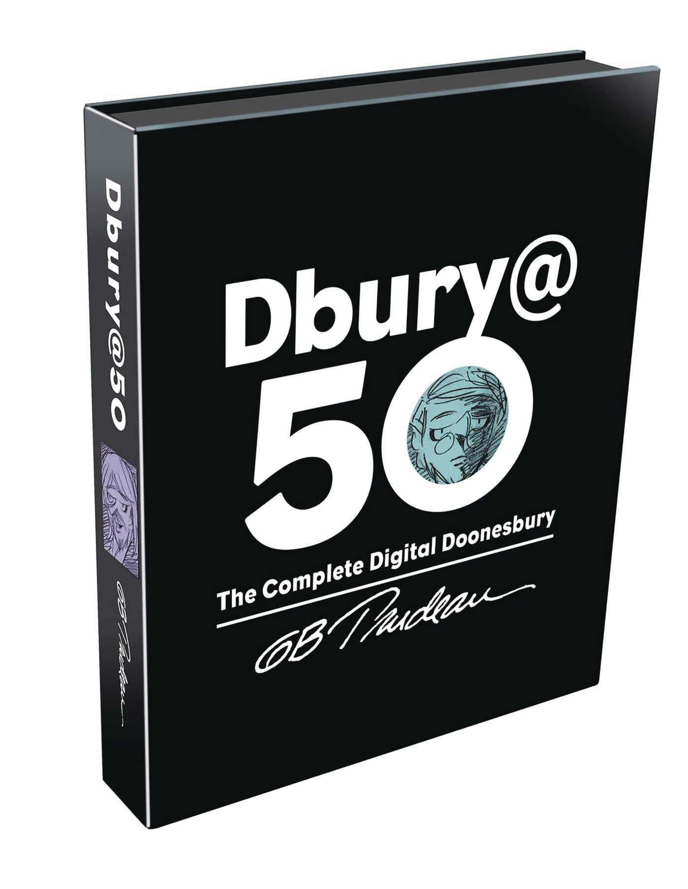 DBURY AT 50 COMP DIGITAL DOONESBURY HC