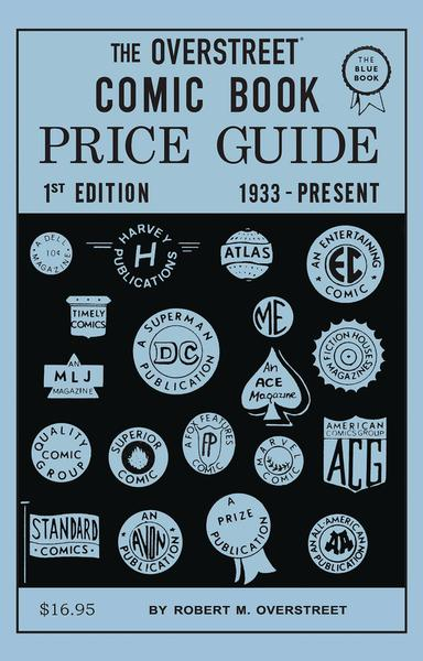 OVERSTREET COMIC BOOK PRICE GUIDE #1 2ND PTG FACSIMILE ED TP