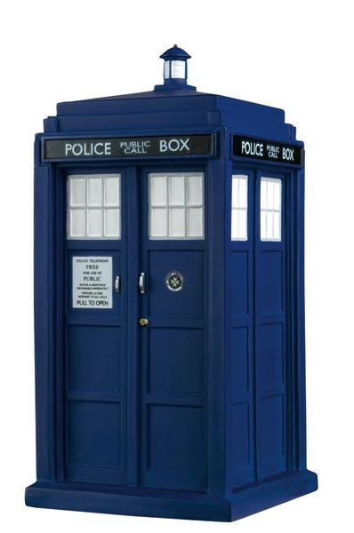 DOCTOR WHO TARDIS POLICE BOXES #1 TARDIS THE 11TH DOCTOR