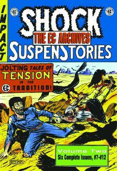 EC ARCHIVES SHOCK SUSPENSTORIES HC 02