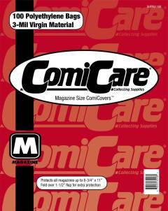 COMIC BAGS MAGAZINE CC Polyethylene