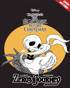 DISNEY MANGA NIGHTMARE CHRISTMAS ZEROS JOURNEY GN 01