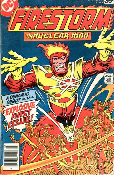 FIRESTORM THE NUCLEAR MAN I (1-5)