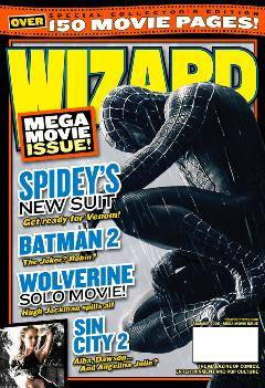 WIZARD COMICS MAGAZINE