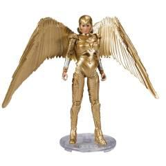 DC MULTIVERSE WV2 WONDER WOMAN GOLD 7IN SCALE AF CS