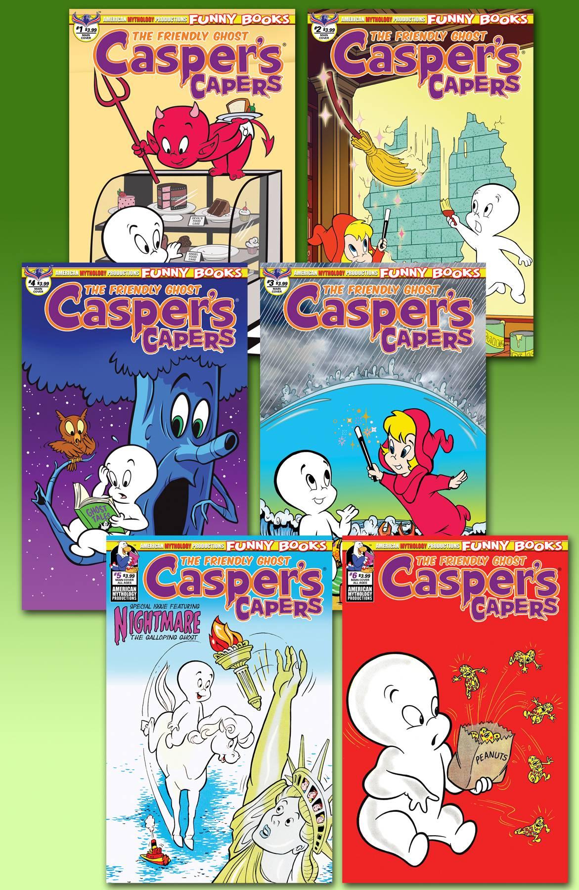 CASPER CAPERS READERS SET
