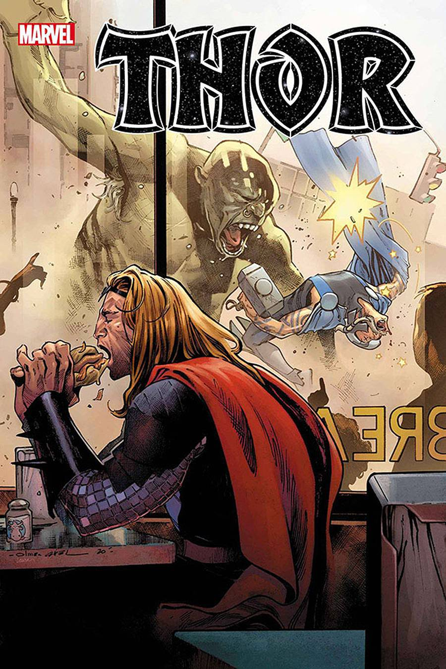 THOR #8 CATES SGN