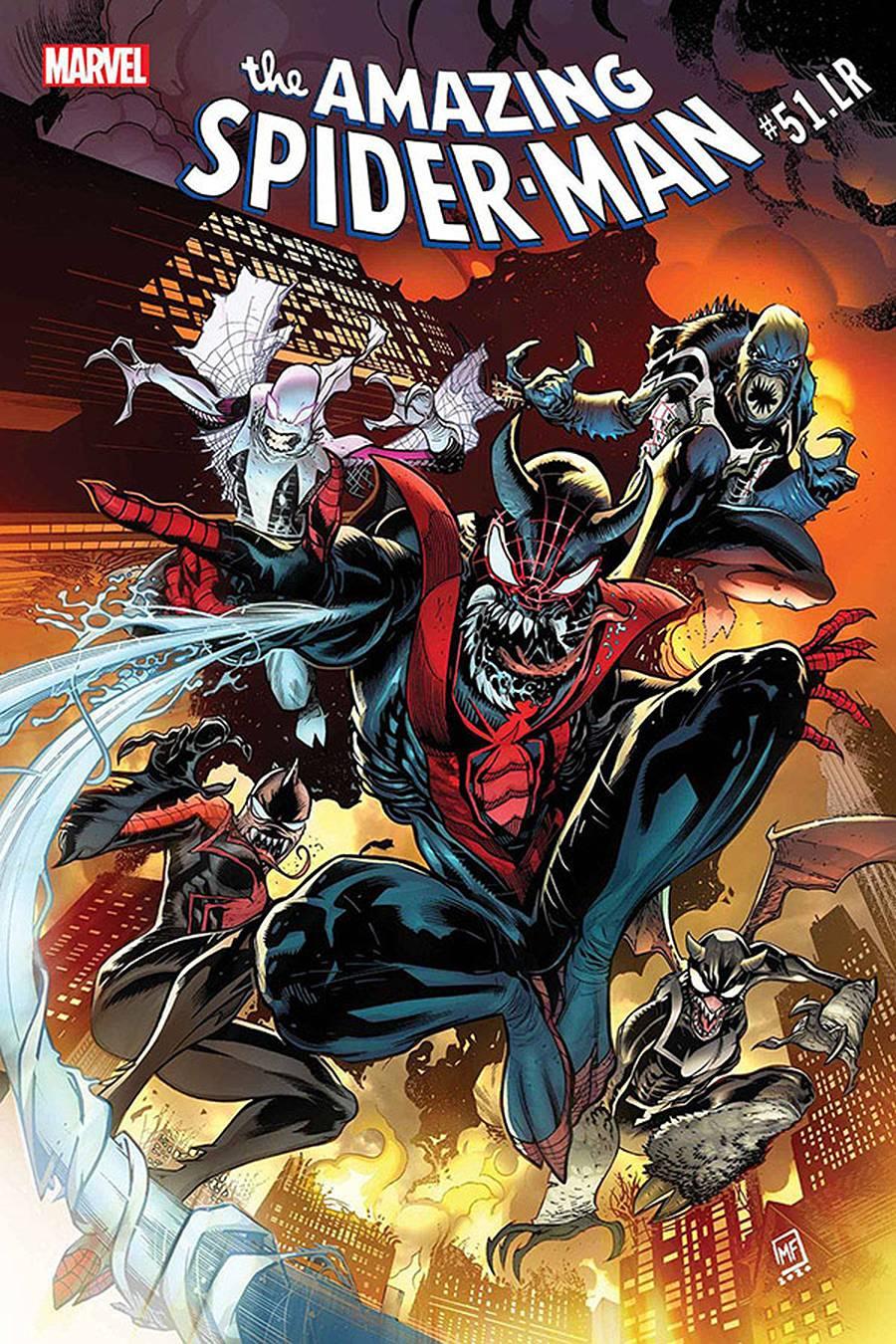 AMAZING SPIDER-MAN #51.LR ROSENBERG SGN