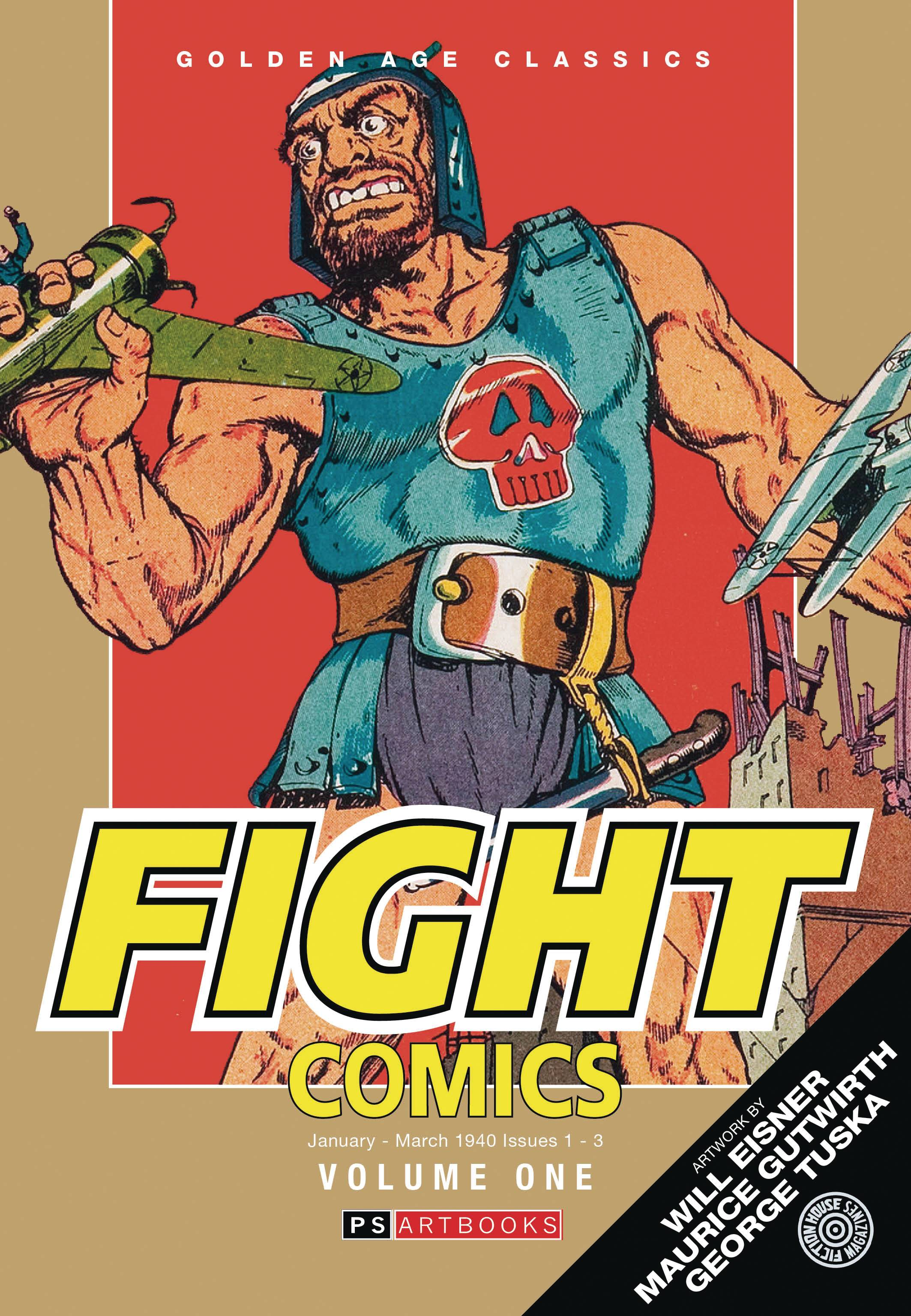GOLDEN AGE CLASSICS FIGHT COMICS HC 01