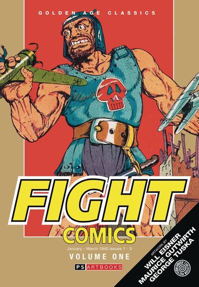 GOLDEN AGE CLASSICS FIGHT COMICS HC 01