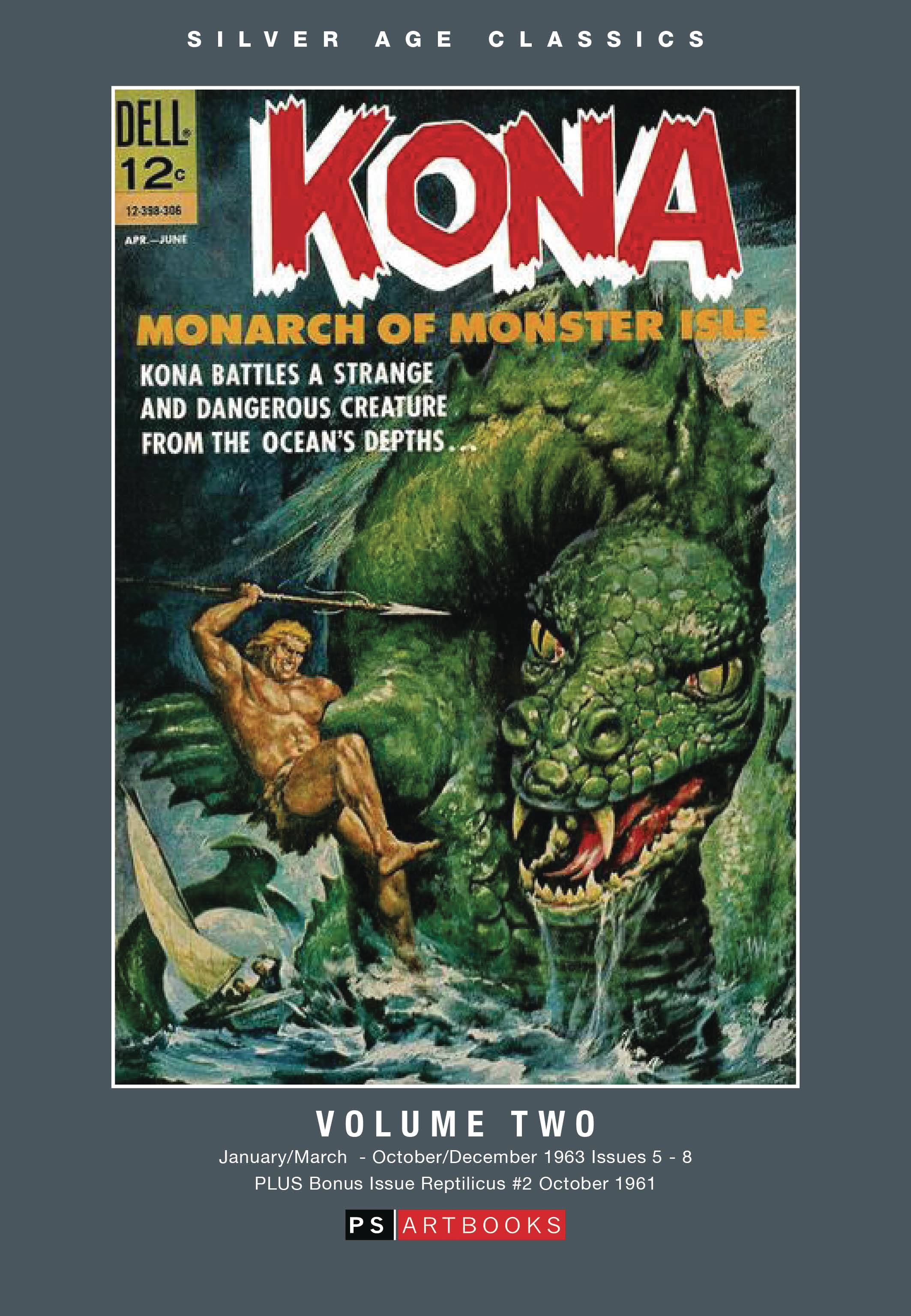 SILVER AGE CLASSICS KONA MONARCH MONSTER ISLE HC 02