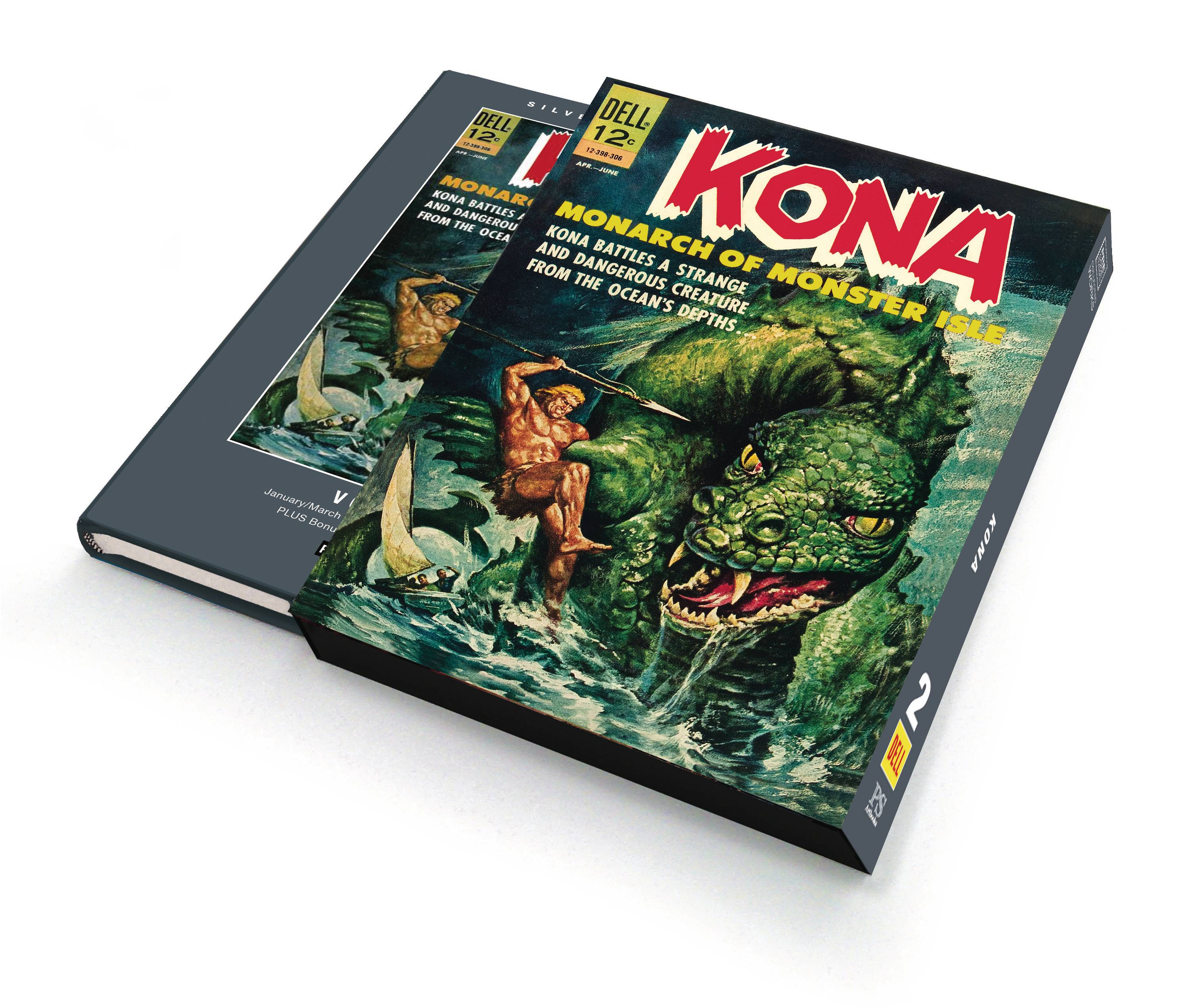 SILVER AGE CLASSICS KONA MONARCH MONSTER ISLE HC 02 SLIPCASE