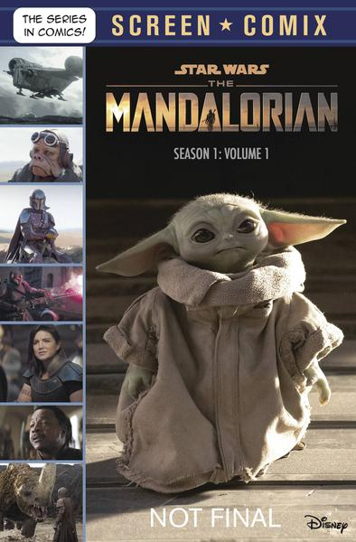 STAR WARS MANDALORIAN SCREEN COMIX TP 01 SEASON 1