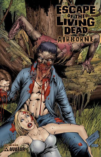 ESCAPE LIVING DEAD FEAR THE GORE COVERS SET (5CT)