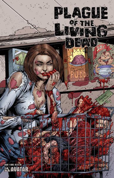 PLAGUE LIVING DEAD GORE COVERS SET (7CT)