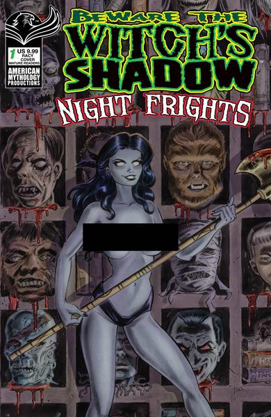 BEWARE THE WITCHS SHADOW NIGHT FRGHTS
