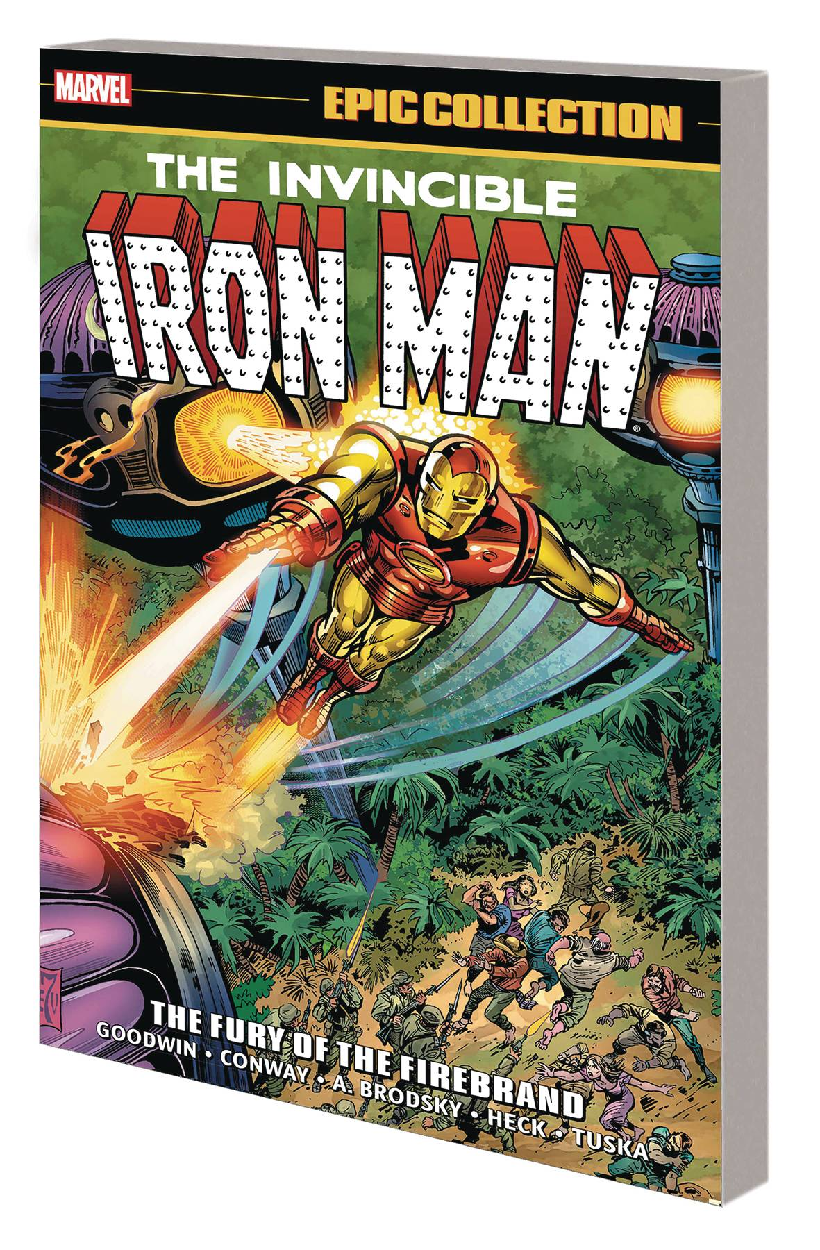 IRON MAN EPIC COLLECTION TP 04 FURY OF FIREBRAND