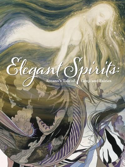 ELEGANT SPIRITS AMANOS TALE OF GENJI & FAIRIES HC 01