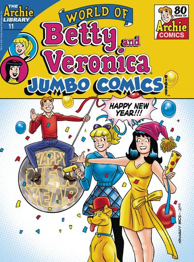 WORLD OF BETTY & VERONICA JUMBO COMICS DIGEST