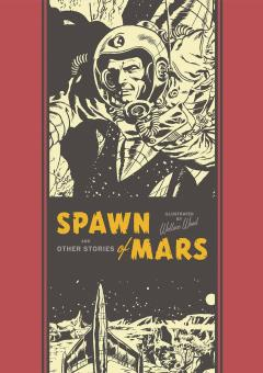 EC WALLY WOOD SPAWN OF MARS HC