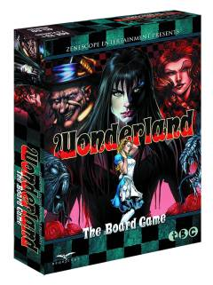 WONDERLAND BOARD GAME