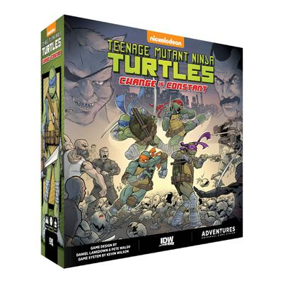 TMNT ADVENTURES CHANGE IS CONSTANT GAME