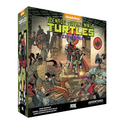 TMNT ADVENTURES CITY FALL GAME