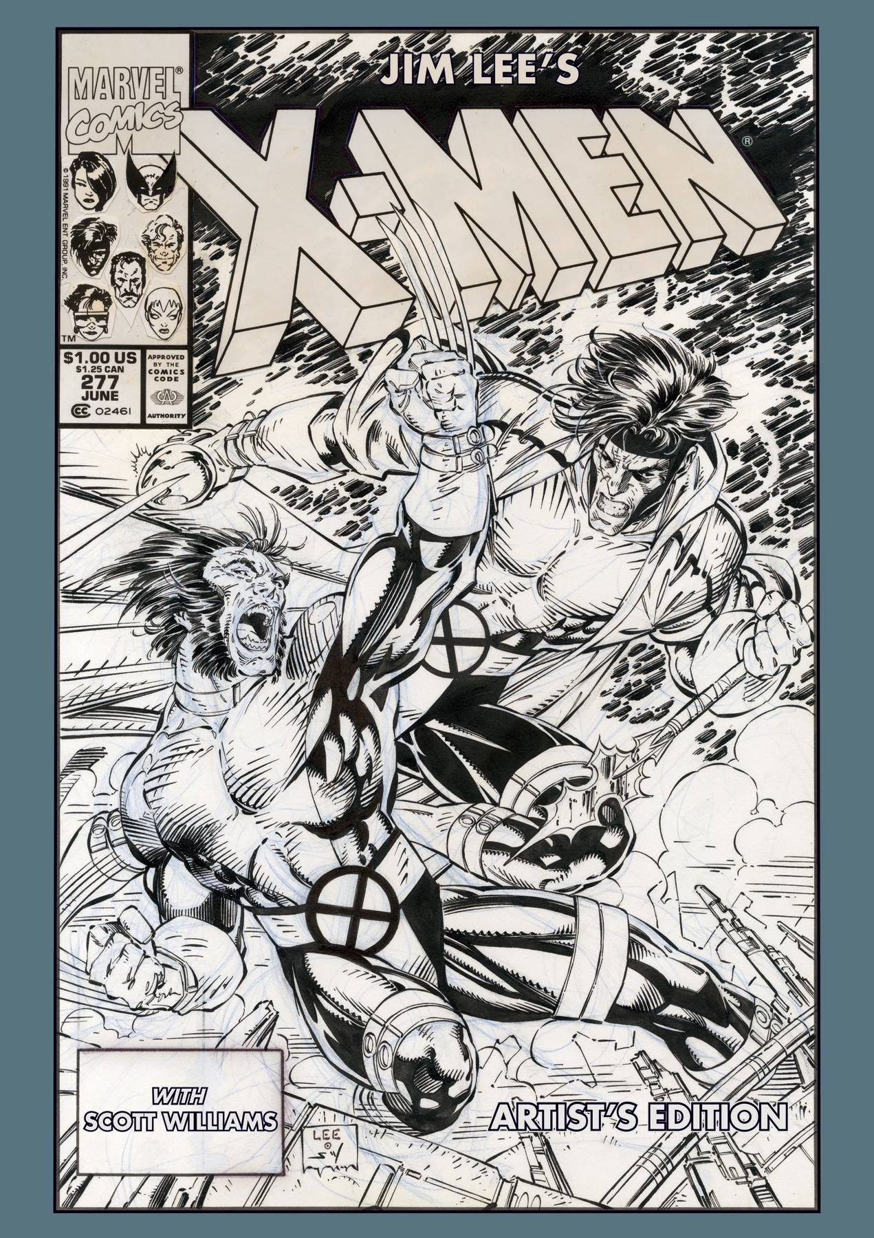 JIM LEES X-MEN ARTIST ED HC