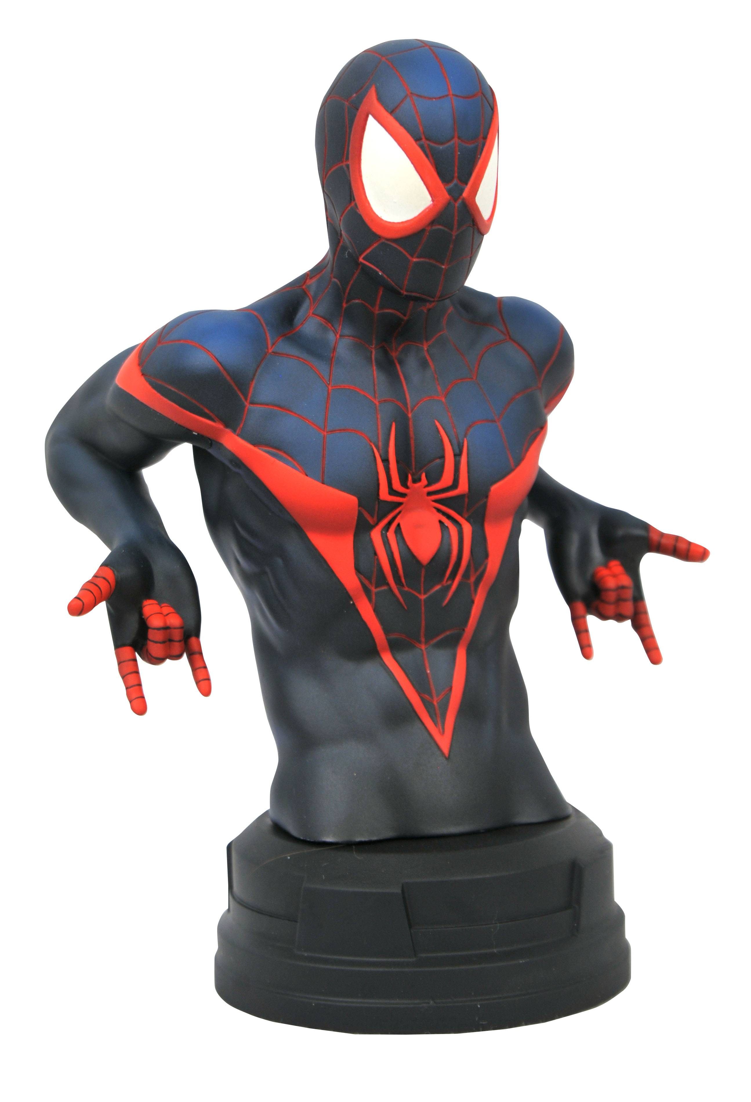 MARVEL COMIC MILES MORALES BUST