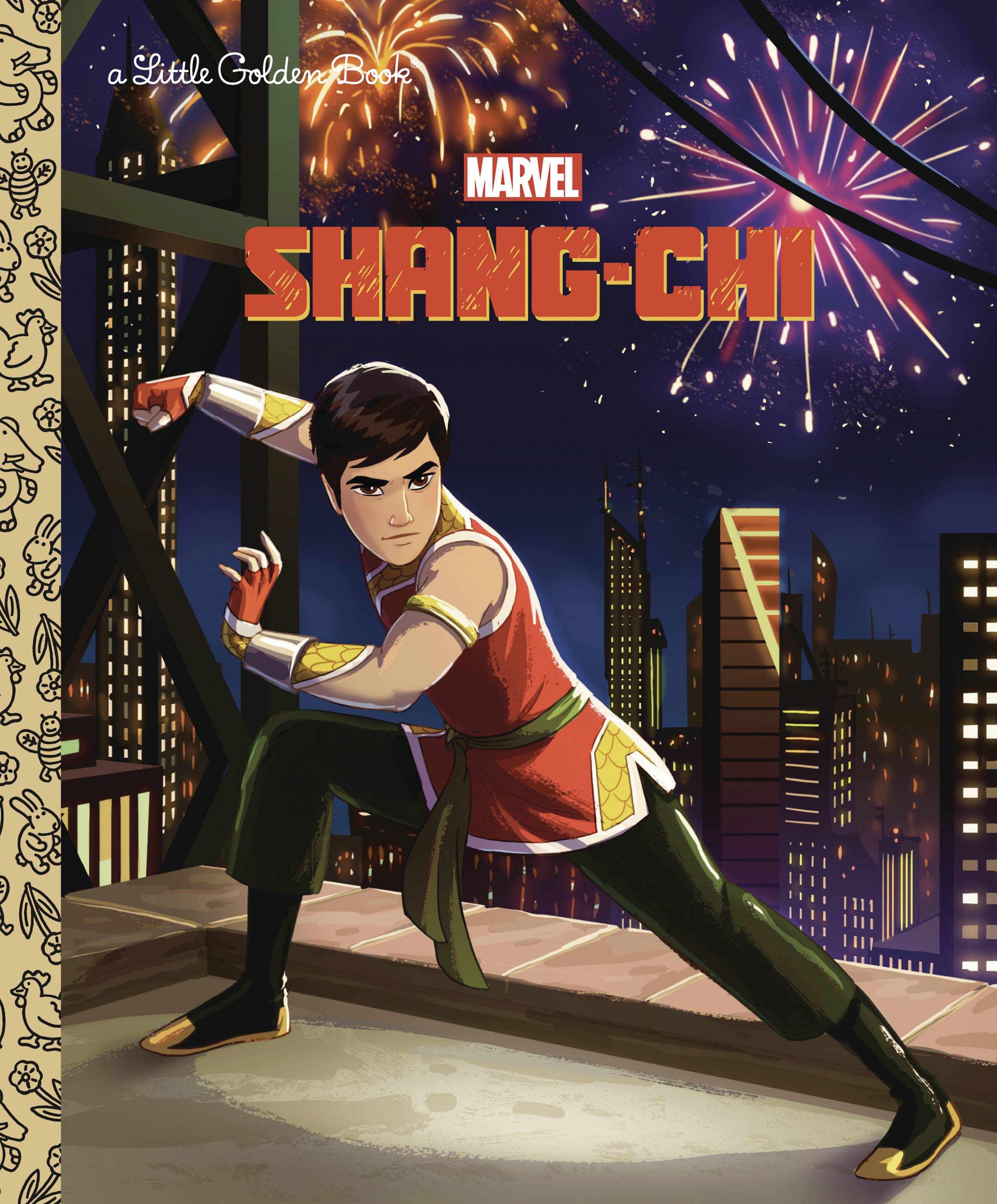 SHANG CHI LITTLE GOLDEN BOOK