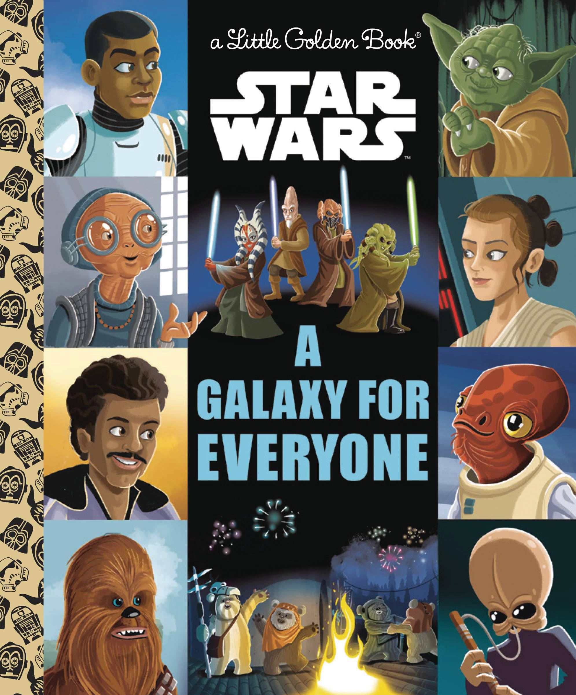 STAR WARS GALAXY OF HOPE LITTLE GOLDEN BOOK
