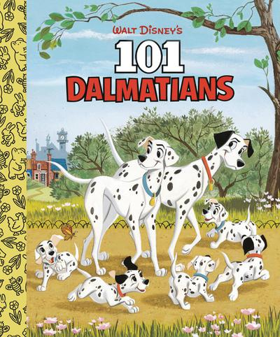 WALT DISNEYS 101 DALMATIANS LITTLE GOLDEN BOARD BOOK