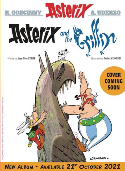 ASTERIX PAPERCUTZ ED TP 39 ASTERIX & THE GRIFFIN
